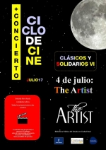 "Martes 4 de julio, Cine: ""The Artist"". A las 22.00 horas."