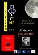 """23 de julio: Ciclo de Cine Clásicos y Solidarios VIII: """"Uno, dos, tres"""""""