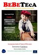 Hasta el 30 de enero plazo de inscripción: Bebeteca coordinada por Jordi Tebé
